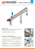 Product Sheet - Screw Compactor Type VCP