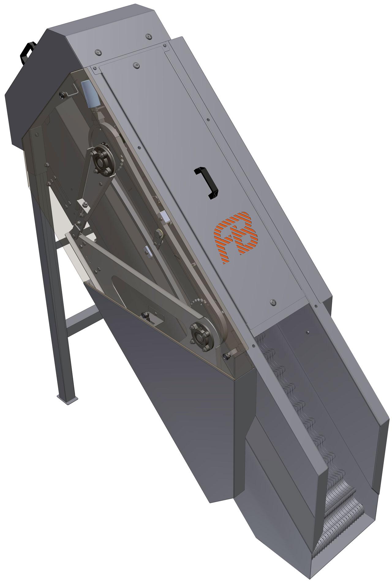 Dégrilleur escalier step screen