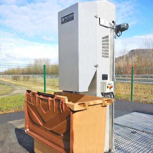 dégrilleur automatique pour eaux usées