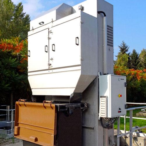 dégrilleur automatique pour traitement des eaux