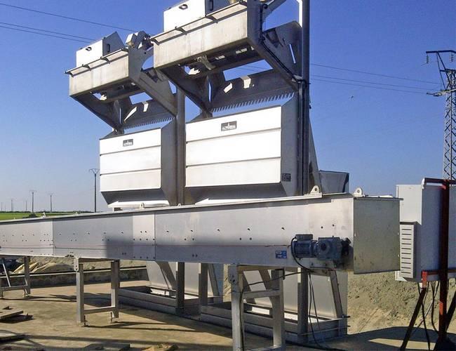 dégrilleur automatique pour assainissement des eaux usées