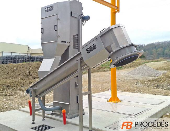 screw compactor reduce volume waste