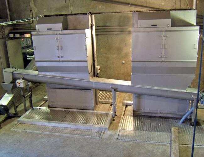 screw conveyor screening solution