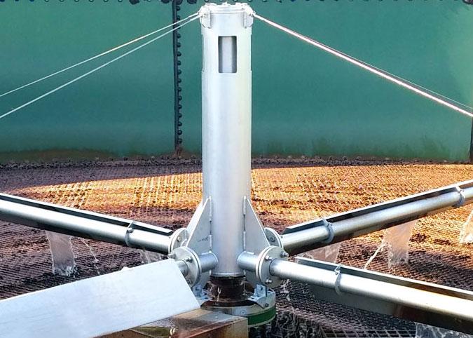 trickling filter motor