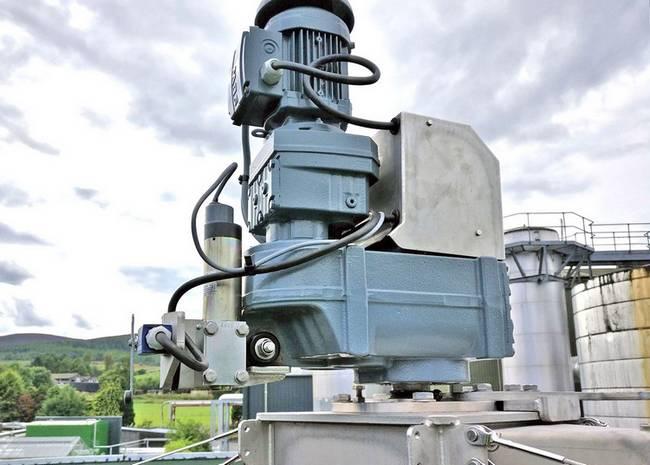 trickling filter wastewater